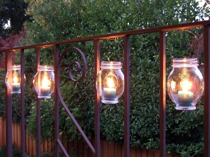 How To Make Hanging Jar Lanterns With Regard To Outdoor Jar Lanterns (View 11 of 15)