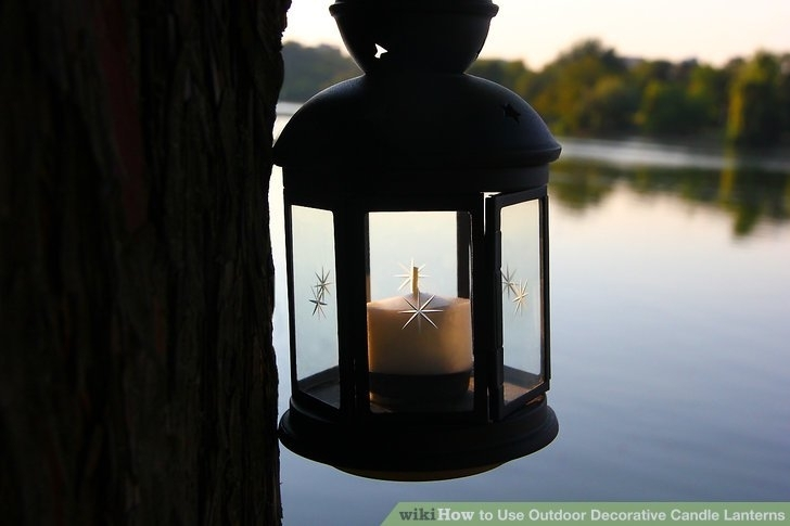 How To Use Outdoor Decorative Candle Lanterns: 5 Steps Within Outdoor Decorative Lanterns (#7 of 15)