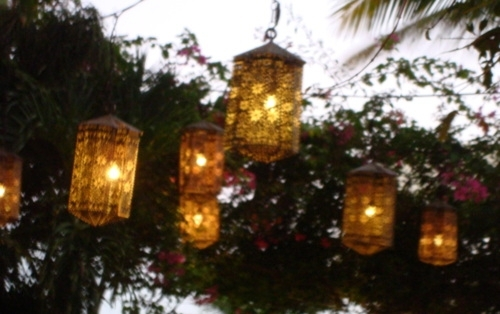 I Finally Put Up My Mexican Lanterns! Within Outdoor Mexican Lanterns (View 4 of 15)