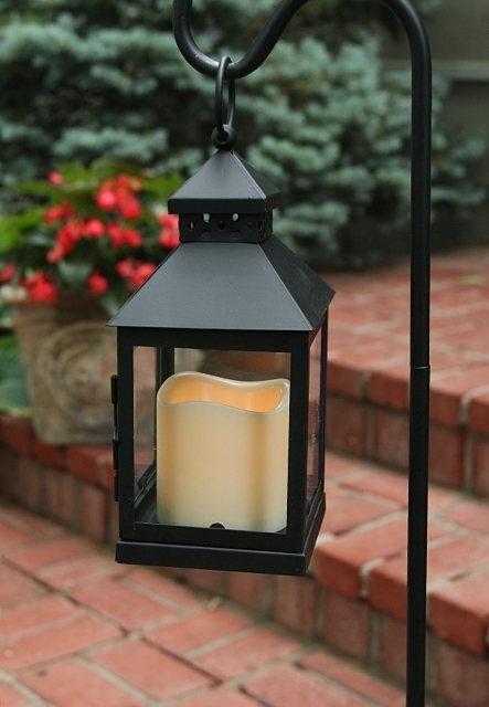 Inspiration about Illuminated Garden: Outdoor Mini Square Battery Operated Candle Within Outdoor Lanterns With Battery Operated Candles (#12 of 15)
