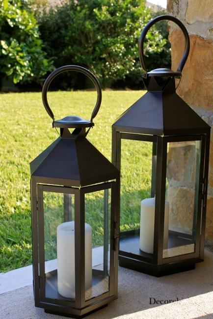 Image Gallery Large Outdoor Floor Lantern Multi Surface Floor Cleaner Intended For Large Outdoor Lanterns (View 9 of 15)