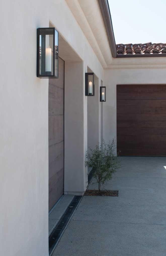 Image Result For Best Modern Outdoor Lights | Exterior Of House Intended For Outdoor Lanterns For Garage (View 12 of 15)