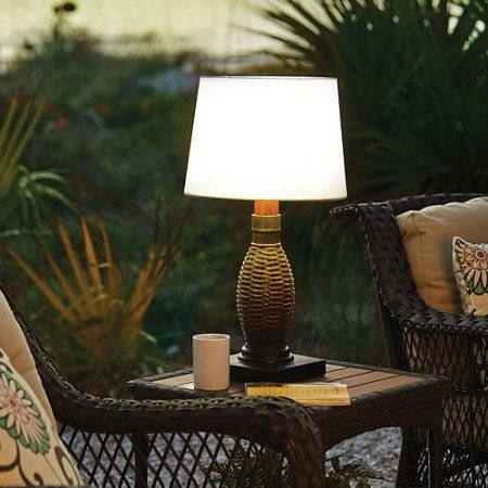 Inspiration about Impressive Battery Operated Outdoor Table Lamps Battery Operated In Outdoor Lanterns For Tables (#15 of 15)
