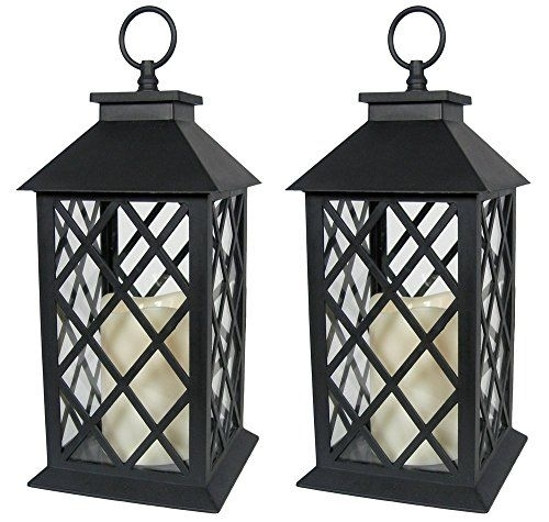 Indoor/outdoor Lanterns – Black Plastic Decorative Lanter Http For Outdoor Plastic Lanterns (#5 of 15)