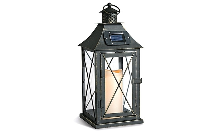 Inspiration about Indoor/outdoor Solar Lanterns | Groupon Goods Inside Outdoor Solar Lanterns (#9 of 15)