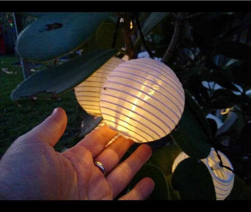 Innoo Tech Solar Lantern String Lights Warm White Http://www (View 14 of 15)
