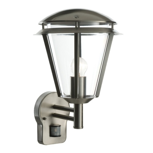 Inova Pir Outdoor Wall Light | The Lighting Superstore Throughout Outdoor Pir Lanterns (#6 of 15)