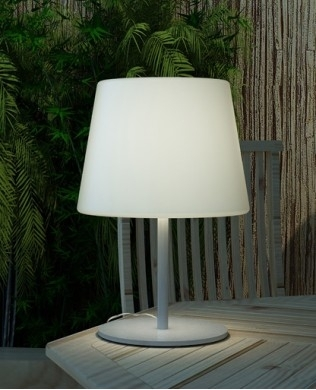 Inspiration about Inspiring Outdoor Table Lamps Outdoor Wicker Table Lamp Patio Inside Outdoor Lanterns For Tables (#13 of 15)