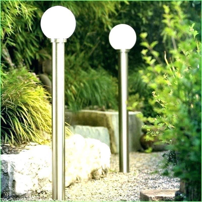 Inspiration about Interesting Yard Lights Solar Yard Post Lights Solar Garden Post Inside Outdoor Lanterns For Posts (#11 of 15)