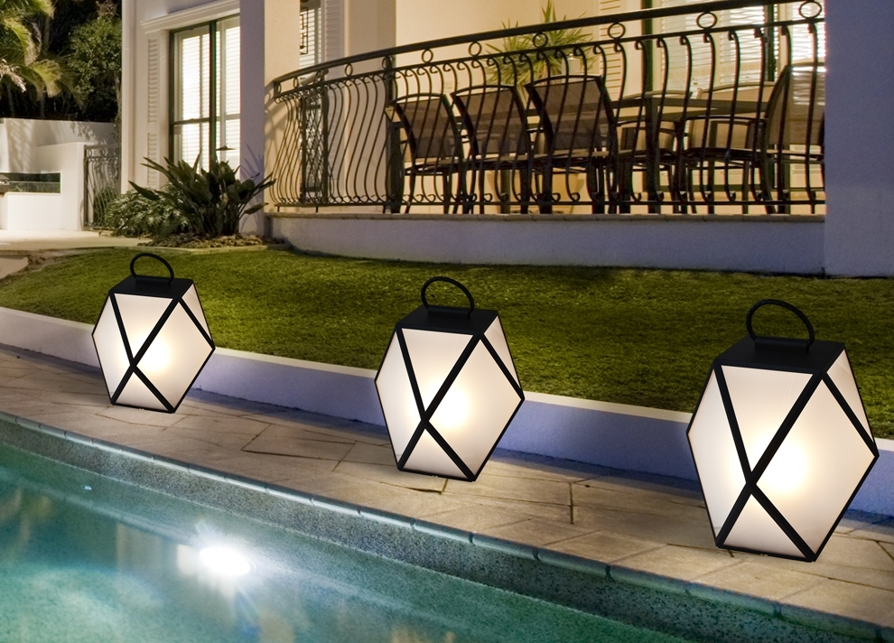 Inspiration about Interior. Battery Powered Outdoor Lights: Contardi Muse Battery In Outdoor Lanterns With Battery Operated (#1 of 15)
