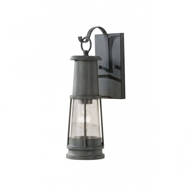 Inspiration about Ip44 Grey Outdoor Garden Wall Lantern, Miners Safety Lamp Design Intended For Outdoor Grey Lanterns (#2 of 15)