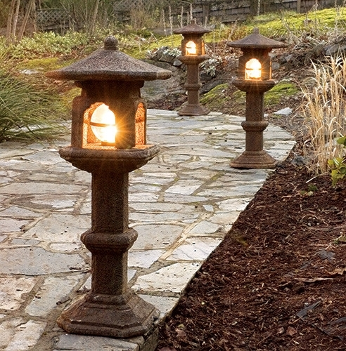 Japanese Lamp (light Not Included) – Castart Pertaining To Outdoor Japanese Lanterns (View 9 of 15)