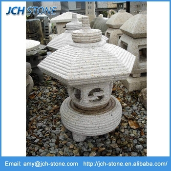 Japanese Outdoor Carved Granite Garden Stone Lanterns For Sale – Buy Intended For Outdoor Japanese Lanterns For Sale (View 15 of 15)