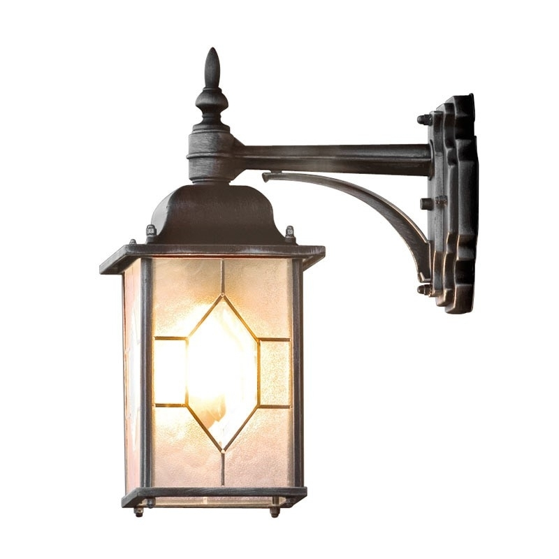 Konstsmide Milano Outdoor Hanging Lantern Wall Light – Lighting Direct With Outdoor Pir Lanterns (#7 of 15)