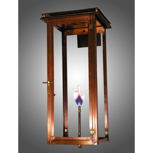 Lakeview Standard Wall Mount Outdoor Lantern – French Market Gas Inside Outdoor Gas Lanterns (View 13 of 15)