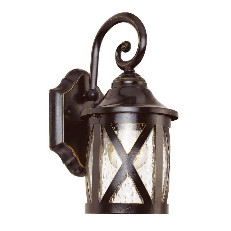 Landon 1 Light Outdoor Wall Lantern & Reviews | Joss & Main Intended For Joanns Outdoor Lanterns (View 13 of 15)