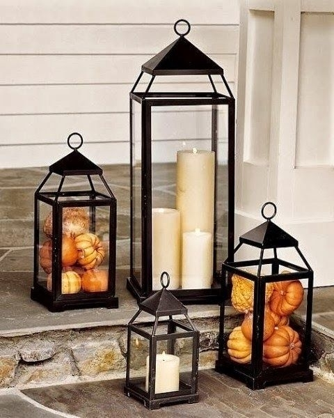 Inspiration about Lanterns Are Inexpensive And Easy To Find. These Filled W/mini For Inexpensive Outdoor Lanterns (#9 of 15)