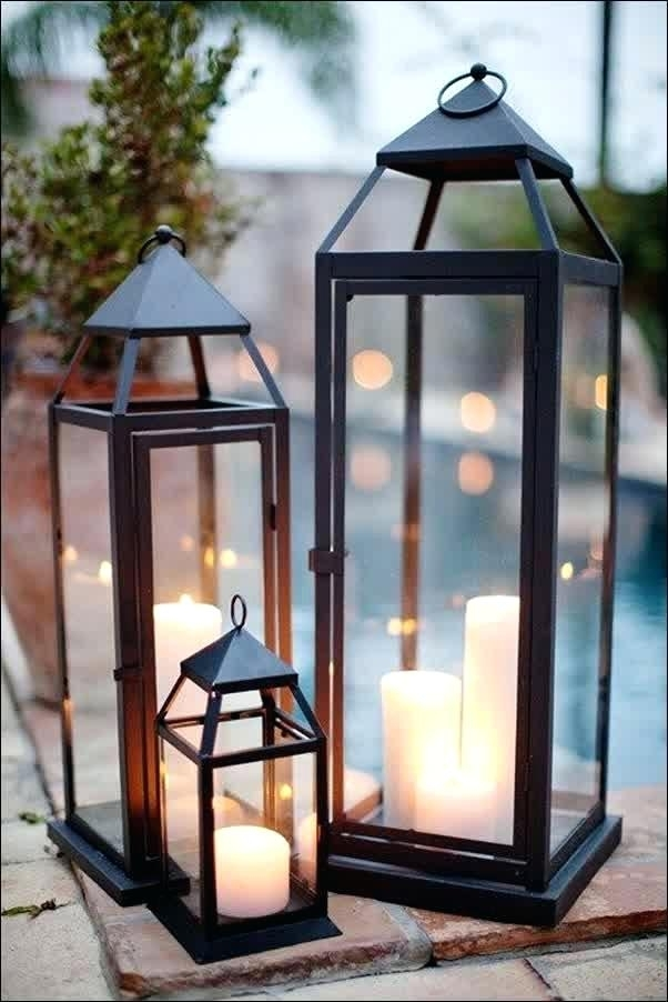 Lanterns Decorative Outdoor Outdoor Outdoor Lanterns For Patio For In Outdoor Decorative Lanterns (View 2 of 15)