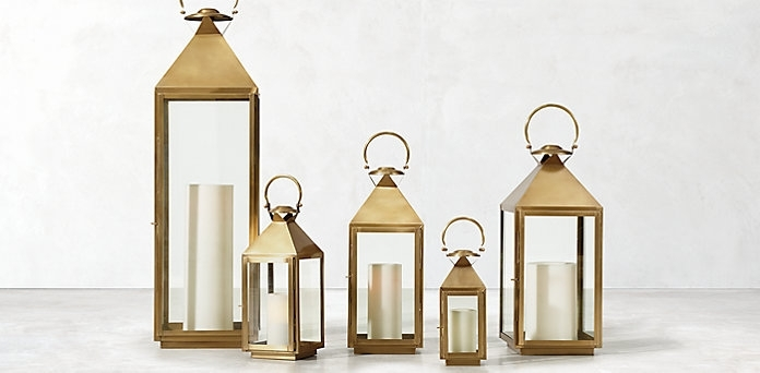Lanterns | Epch Pertaining To Gold Outdoor Lanterns (#14 of 15)