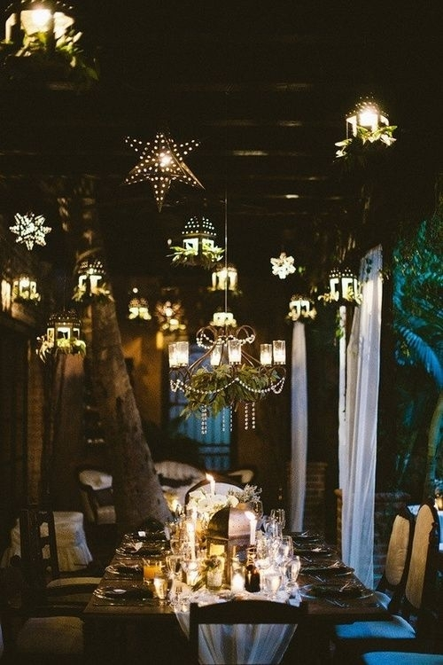 Lanterns | Wedding Ideas | Pinterest | Wedding, Lights And Decoration Throughout Outdoor Dining Lanterns (View 14 of 15)