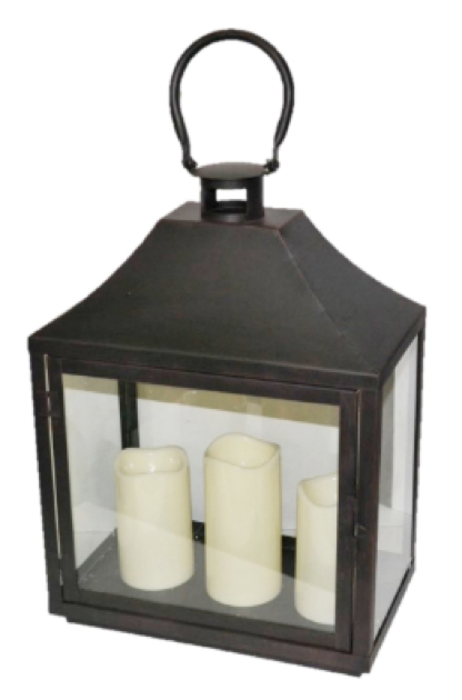Lanterns With Flameless Candles Throughout Outdoor Lanterns With Flameless Candles (View 9 of 15)