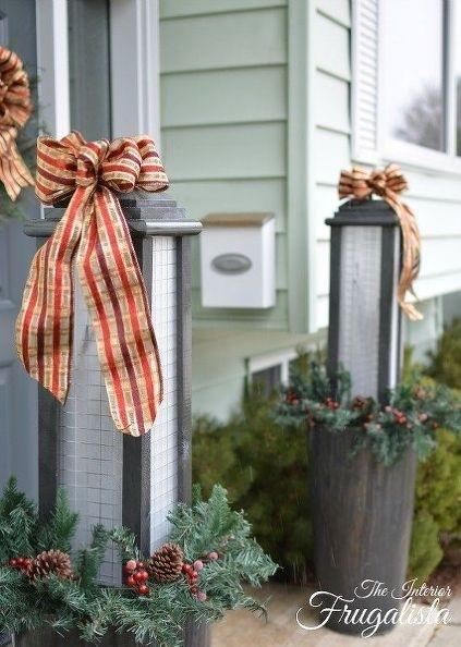 Large Diy Outdoor Holiday Lanterns, Christmas Decorations, Diy For Outdoor Holiday Lanterns (View 3 of 15)