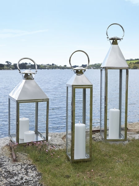 Large Metal Lanterns For Candles – Image Antique And Candle Intended For Outdoor Metal Lanterns For Candles (View 12 of 15)