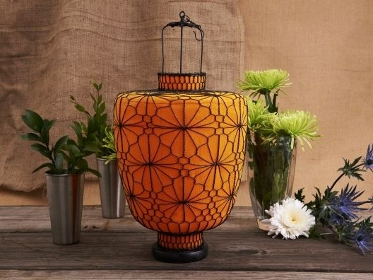Large Orange Lantern From Matahari | Goods | Pinterest | Orange Pertaining To Outdoor Orange Lanterns (#8 of 15)