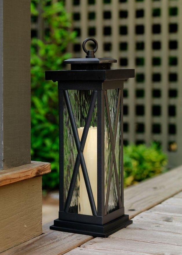 Large Outdoor Solar Lanterns American Gardener Large Outdoor Solar With Regard To Outdoor Solar Lanterns (#8 of 15)