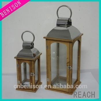 Inspiration about Large Unique Vintage Wooden Lantern Outdoor Decorative Lanterns Regarding Large Outdoor Decorative Lanterns (#8 of 15)