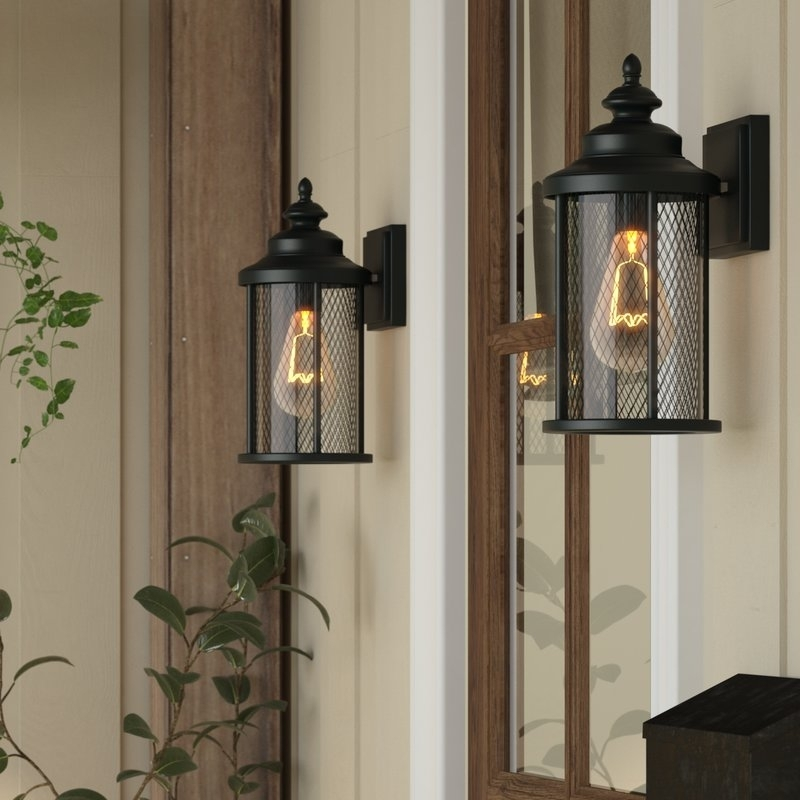 Laurel Foundry Modern Farmhouse Torrence 1 Light Outdoor Wall With Regard To Outdoor Wall Lanterns (View 14 of 15)