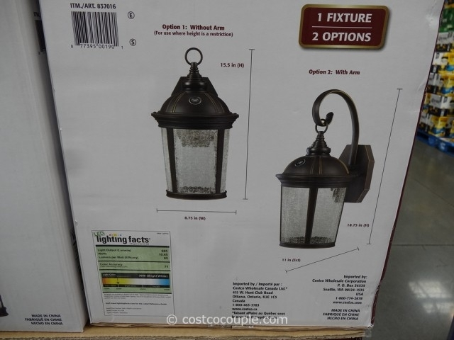 Inspiration about Led Outdoor Lights Costco – Outdoor Lighting Ideas In Led Outdoor Lanterns (#6 of 15)