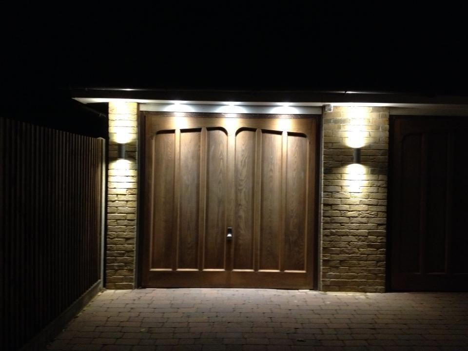 Inspiration about Led Outside Garage Lights | Vineaentertainment With Regard To Outdoor Lanterns For Garage (#15 of 15)