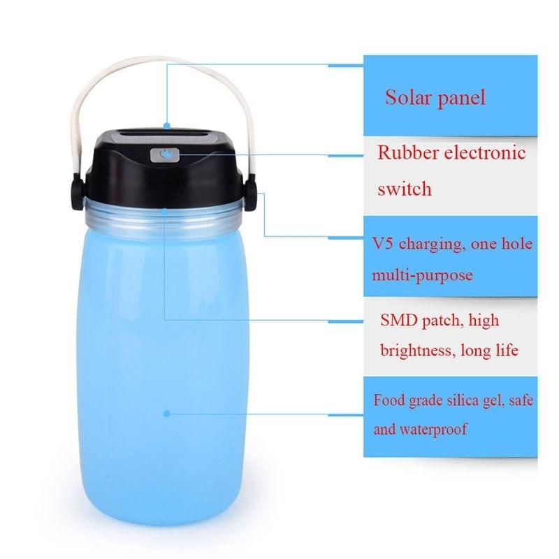 Led Portable Lanterns Lamp Solar Outdoor Water Lamp Food Grade Regarding Outdoor Gel Lanterns (View 15 of 15)