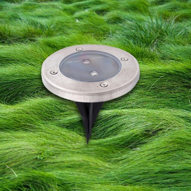 Inspiration about Led Solar Underground Lawn Lamp Ground Buried Light Outdoor Garden For Outdoor Ground Lanterns (#10 of 15)