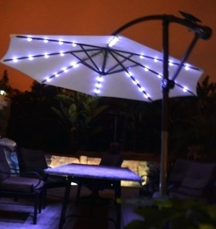 Led Strip Lights For Deck Lighting And Patio Pertaining To Led With Regard To Outdoor Umbrella Lanterns (View 5 of 15)