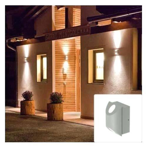 Light: Led Up Down Wall Light Outdoor Lights Amazon (View 5 of 15)