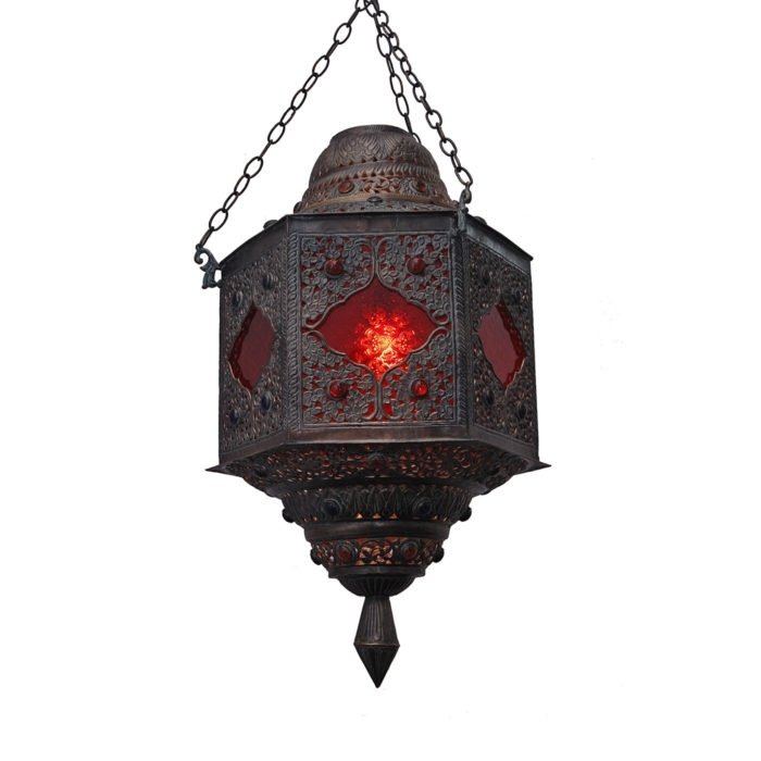 Inspiration about Lighting: Brass Light Fixtures In Indian, Moroccan, & Other Styles Throughout Outdoor Indian Lanterns (#5 of 15)