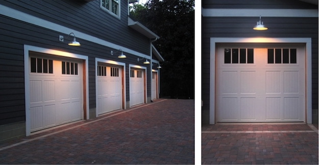 Lighting Design : Cool How To Wire Outdoor Garage Lights , Placement Inside Outdoor Lanterns For Garage (View 4 of 15)
