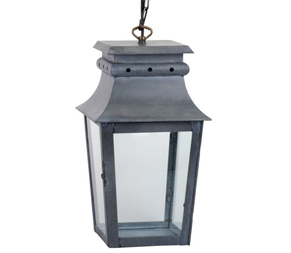 Lighting > Exterior > The Zinc Collection – The French House Pertaining To Zinc Outdoor Lanterns (#4 of 15)