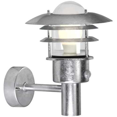 Lonstrup Outdoor Pir Light 7143 20 31 | The Lighting Superstore For Outdoor Pir Lanterns (#9 of 15)