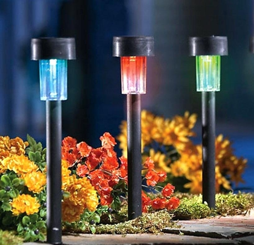 Lovely Best Solar Garden Lights Color Changing Solar Pathway Lights Inside Outdoor Lanterns At Amazon (View 11 of 15)