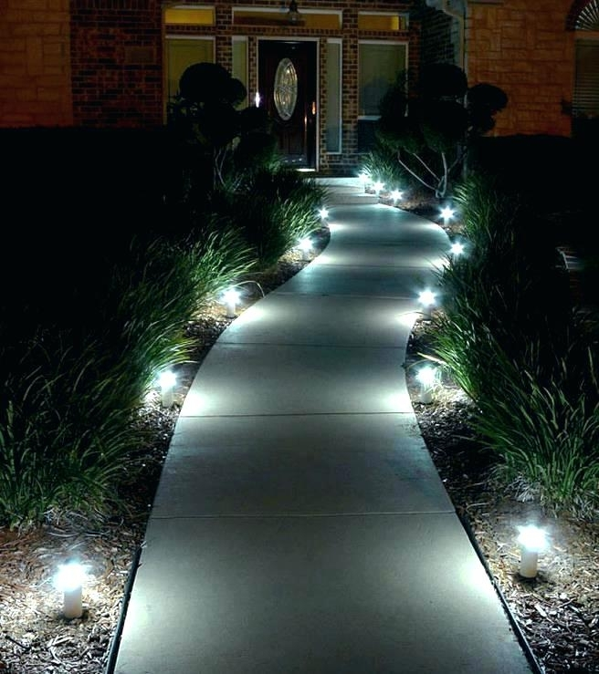 Low Voltage Outdoor Driveway Lighting Installing Lights Marker Pertaining To Outdoor Driveway Lanterns (View 2 of 15)