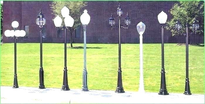 Inspiration about Lowes Lamp Post Lights Outdoor Lamp Post At Outdoor Post Lights Regarding Outdoor Lanterns For Posts (#7 of 15)