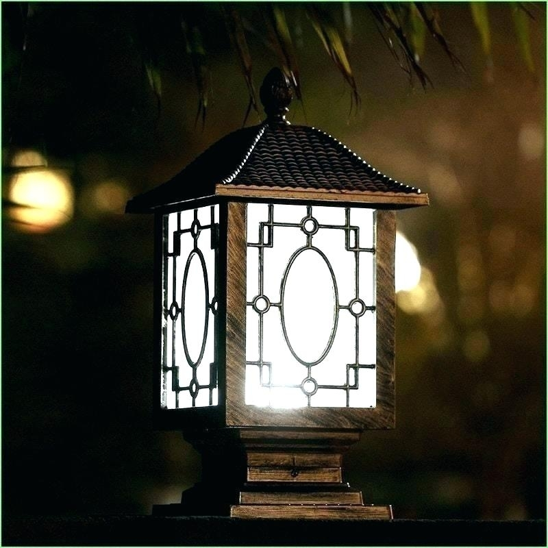 Inspiration about Lowes Outdoor Lanterns Lamp Post Lanterns Post Light Fixtures Lamp With Regard To Outdoor Lanterns On Post (#4 of 15)