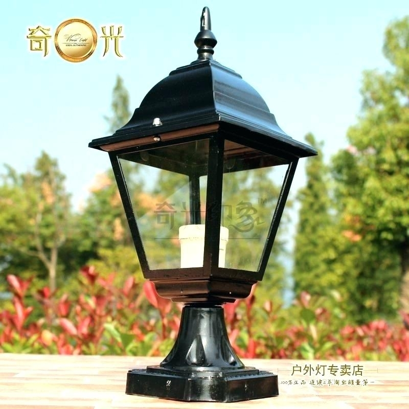 Inspiration about Lowes Outdoor Lanterns Lighting Campus Led Outdoor Lamp Post Lights With Regard To Outdoor Lanterns For Posts (#8 of 15)