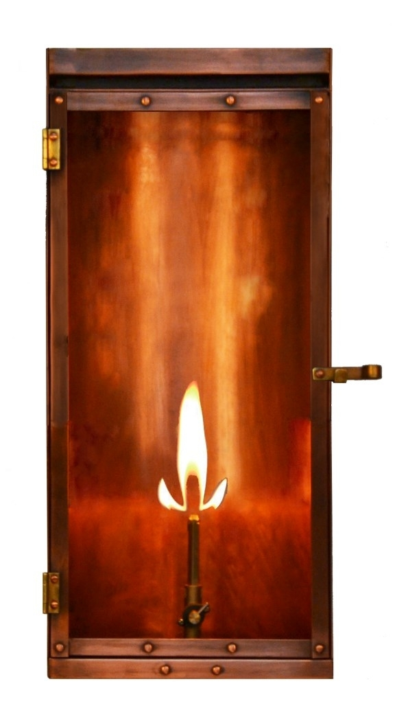 """Inspiration about Lu 18/22 Gas Coppersmith Luna 18"""" Gas Lantern Lu 18/22The Coppersmith Intended For Copper Outdoor Electric Lanterns (#7 of 15)"""