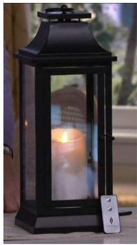 "Luminara 25"" Heritage Indoor Outdoor Lantern With Flameless Candle With Outdoor Luminara Lanterns (#6 of 15)"
