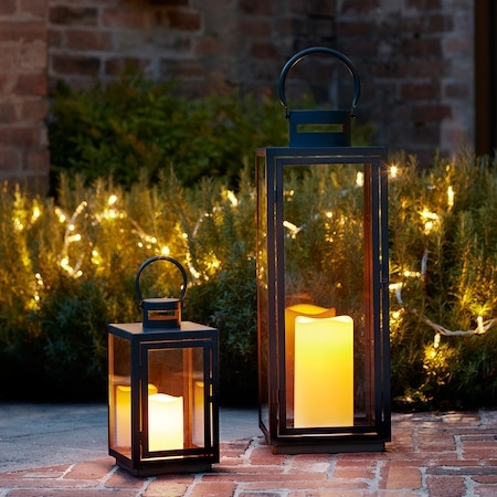 Inspiration about Malvern Outdoor Lantern Bundle | Lights4Fun.co.uk In Outdoor Mains Lanterns (#3 of 15)