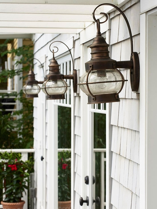 Inspiration about Marvelous Outdoor Lantern Light Fixtures Outdoor Hanging Candle Throughout White Outdoor Lanterns (#10 of 15)